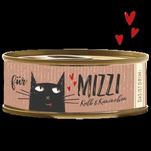 Bubeck-Katzenfutter-Mizzi-Kalb-Kaninchen-100g-getreidefrei